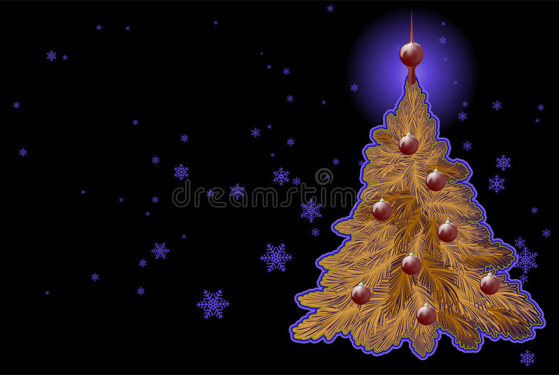 Abstract Christmas theme background stock photography