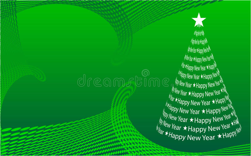 Download Abstract Christmas tree stock vector. Image of design - 11100201