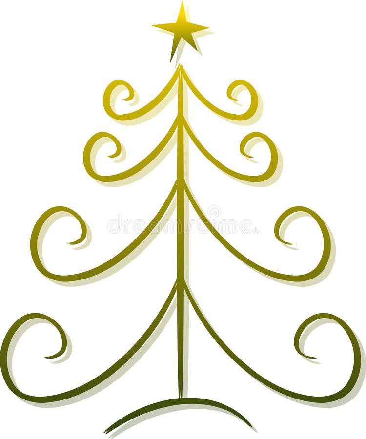 Download Abstract Christmas Tree stock illustration. Illustration of festivity - 11720113