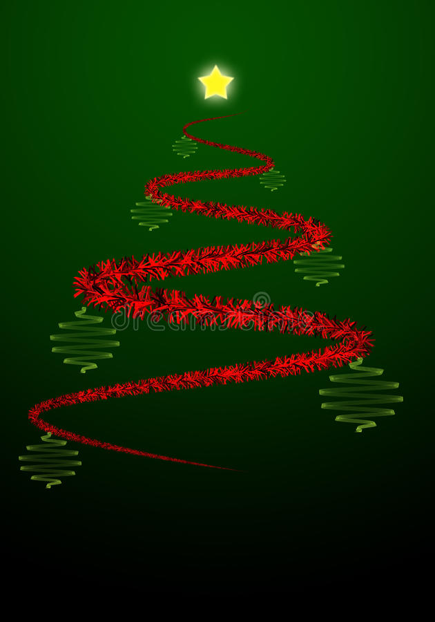 Download Abstract christmas tree stock illustration. Image of celebrate - 15939548