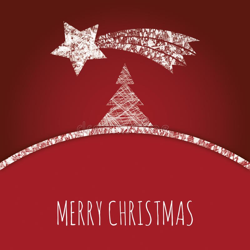 Download Abstract Christmas Tree With Comet Stock Photography - Image: 35564182