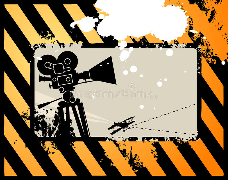 Download Abstract Cinema Background Stock Image - Image: 19164671