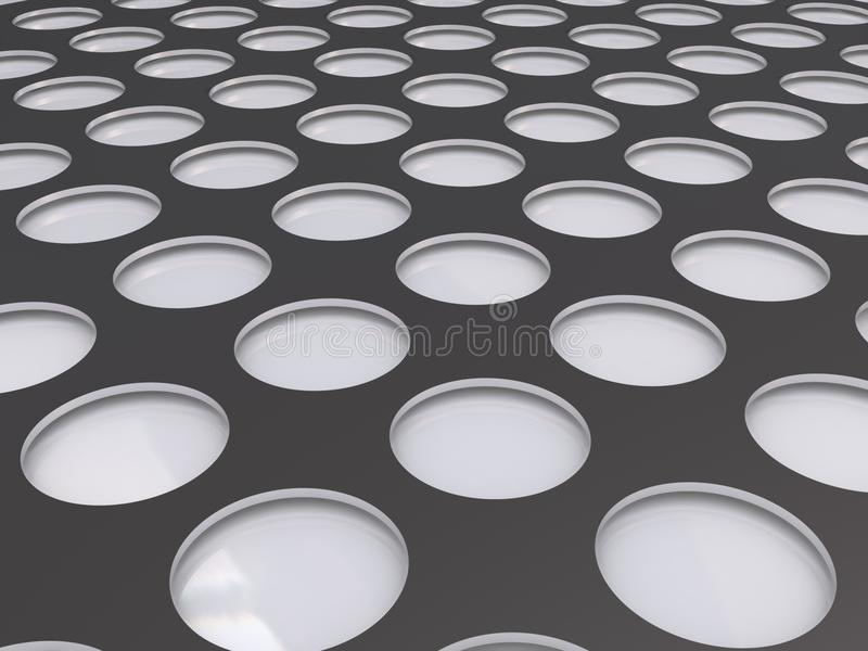Download Abstract circle background stock illustration. Image of indented - 12201175