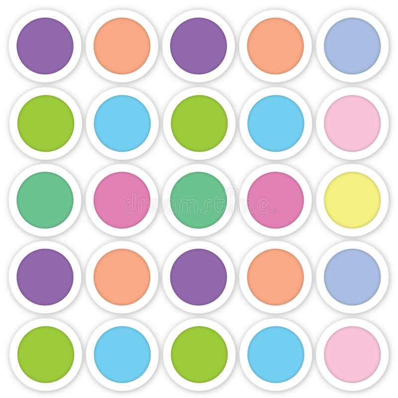 Abstract circle background stock illustration