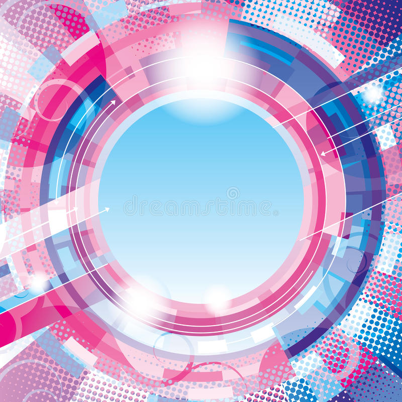Download Abstract circle background stock vector. Image of spray - 21335334