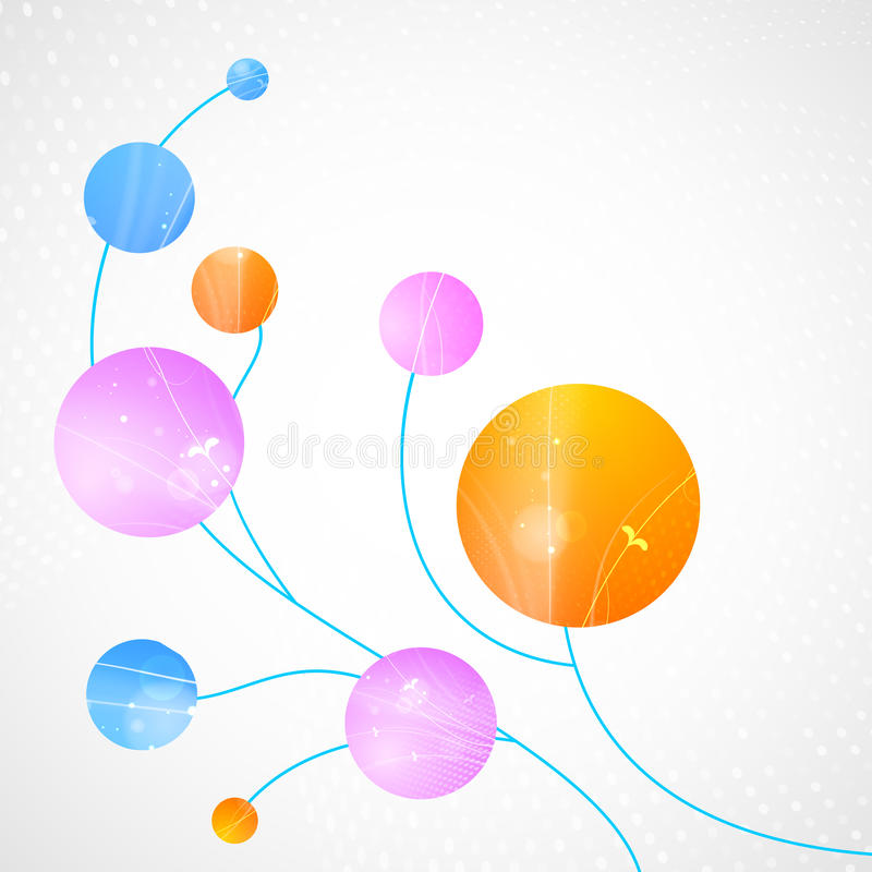 Abstract Circle Background. Stock Image