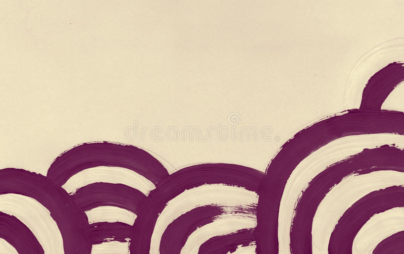 Abstract circle lines stroke paint