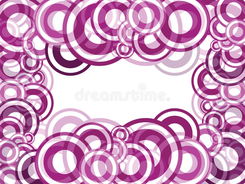 Abstract circles background stock photos
