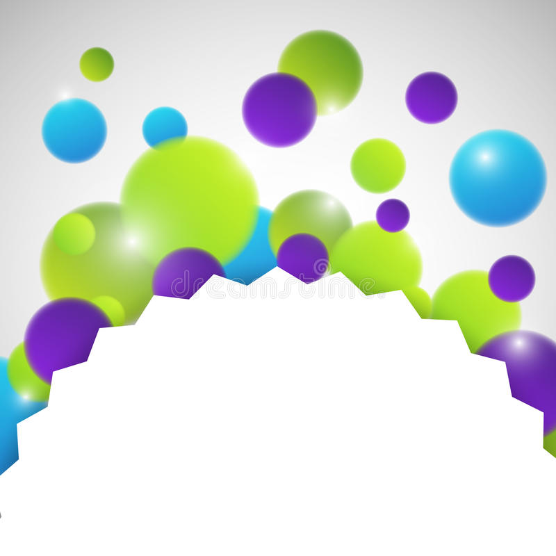 Download Abstract circles with blur stock illustration. Image of decoration - 27447552