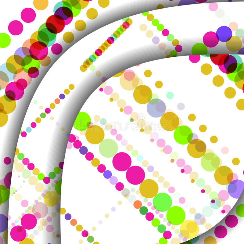 Abstract Circles Illustration Royalty Free Stock Images
