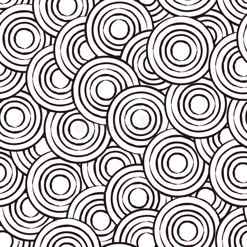 Abstract circles pattern royalty free stock image