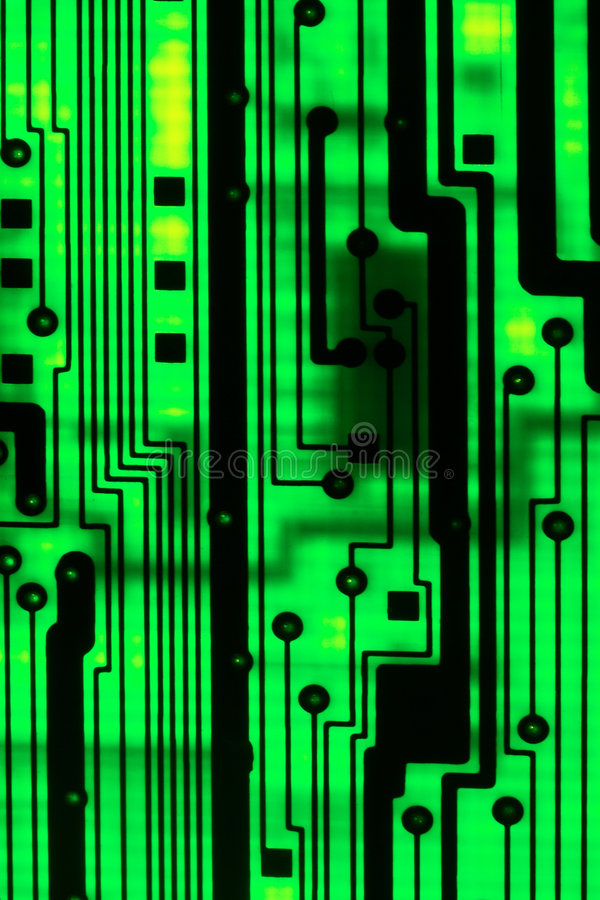 Abstract circuit boad royalty free stock image