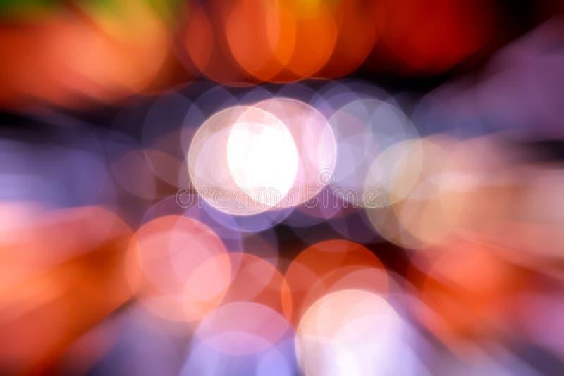 Abstract Circular Bokeh Background Stock Photography