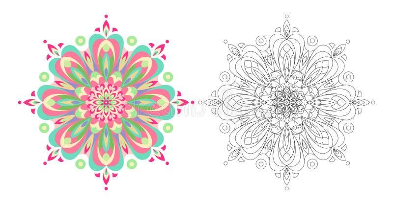 Abstract Circular Pattern royalty free illustration