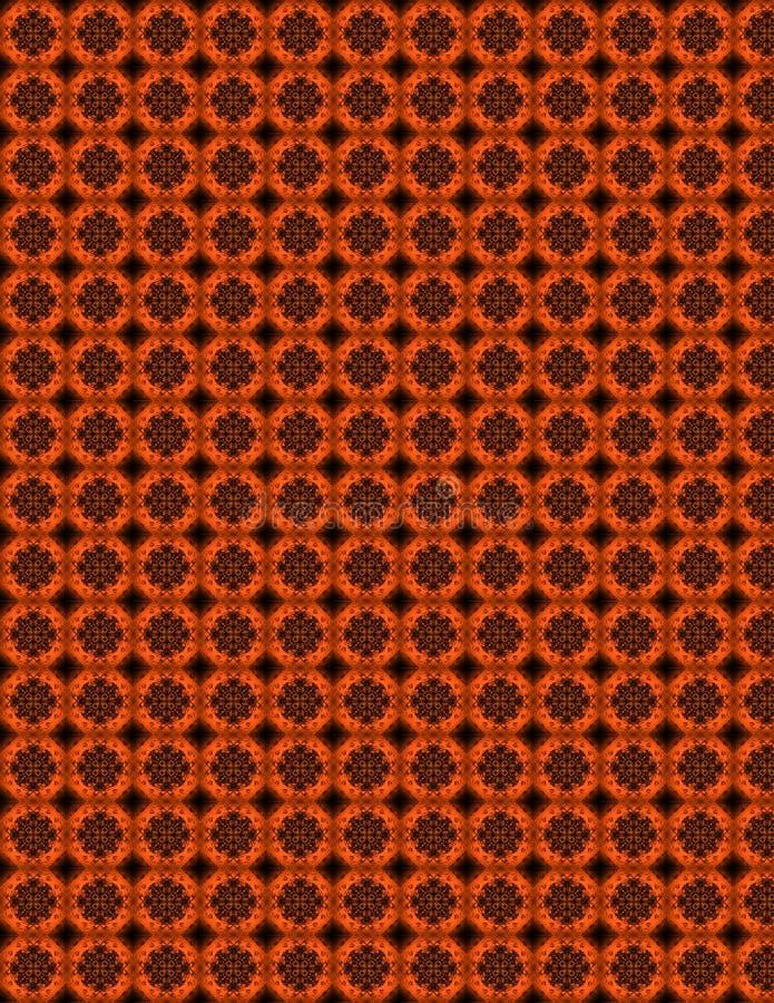 Abstract cirkelpatroon royalty-vrije stock afbeelding