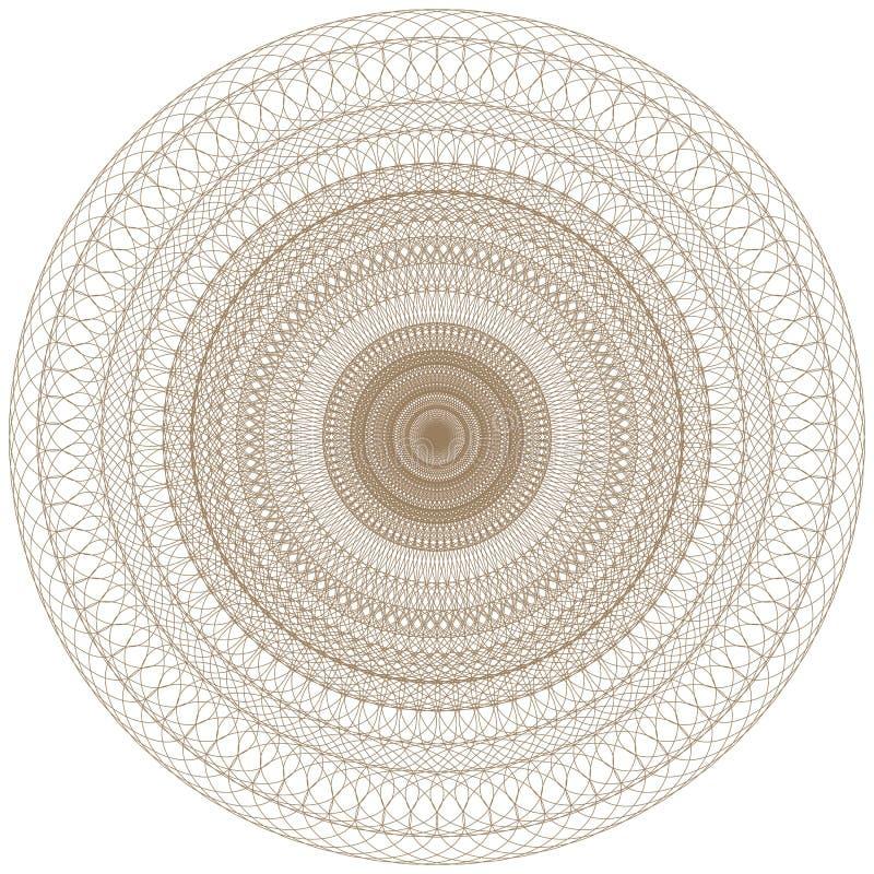 Abstract CirkelPatroon stock illustratie