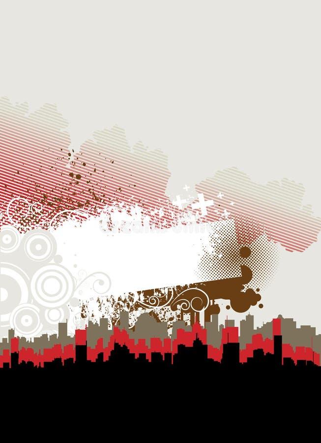 Abstract City Frame Stock Photos