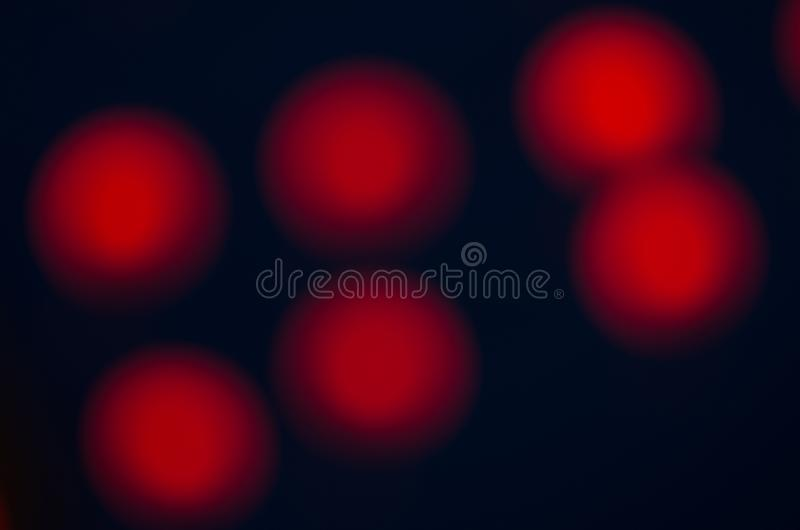 Abstract city night defocused light, blur bokeh, colorful & dark background. Pattern, dreamy, backdrop & street. Abstract city night defocused light, blur bokeh royalty free stock images