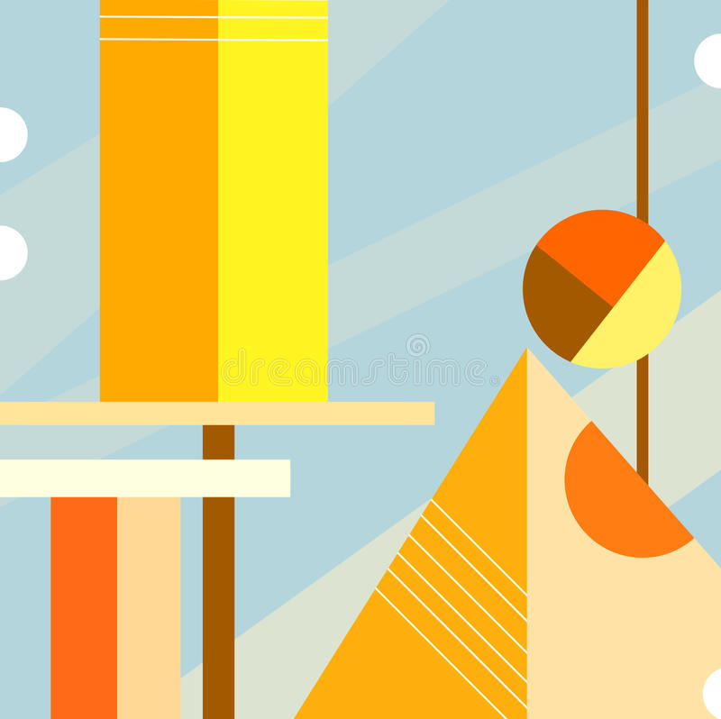 Download Abstract Cityscape stock vector. Illustration of cubism - 10984470