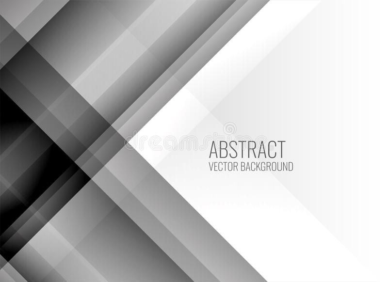 Abstract clean gray lines background vector illustration