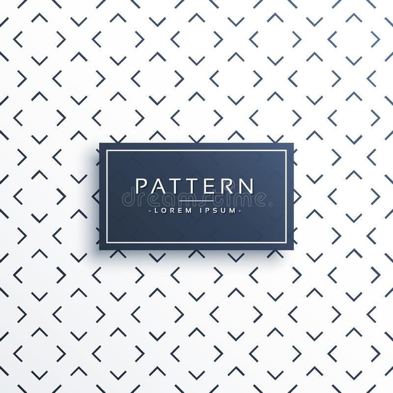 Abstract clean minimal pattern background design. Illustration vector illustration