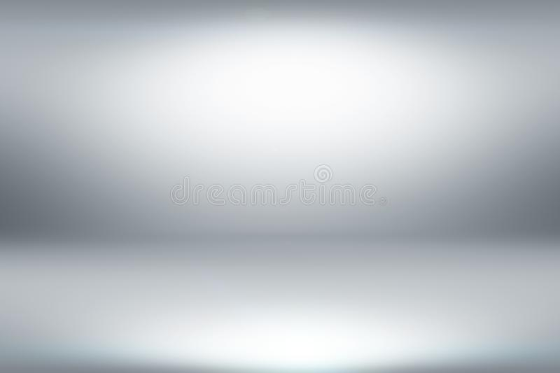 Abstract clean white light studio background with illumination. You can use it for different design purposes like business presentation, or banner backgrounds vector illustration