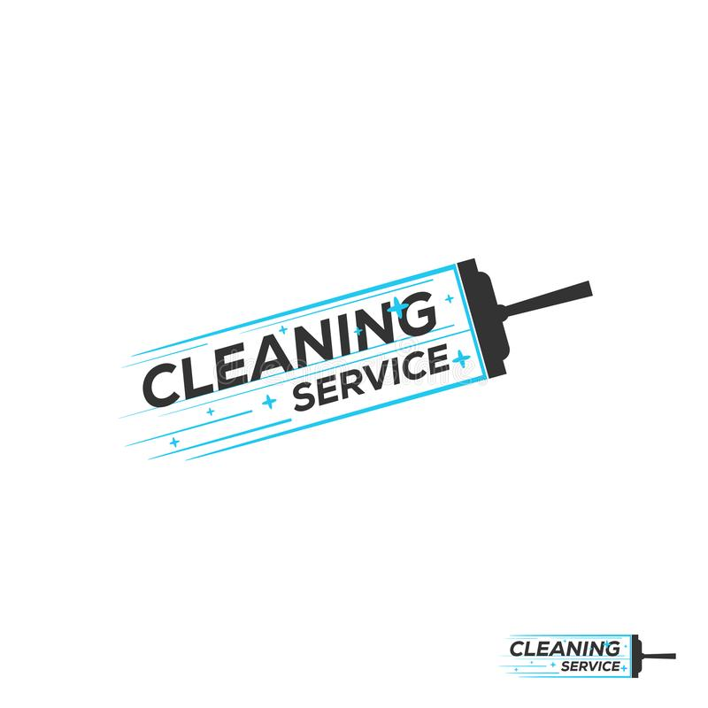 Abstract Cleaning Logo Template. Vector Illustrator Eps.10 vector illustration