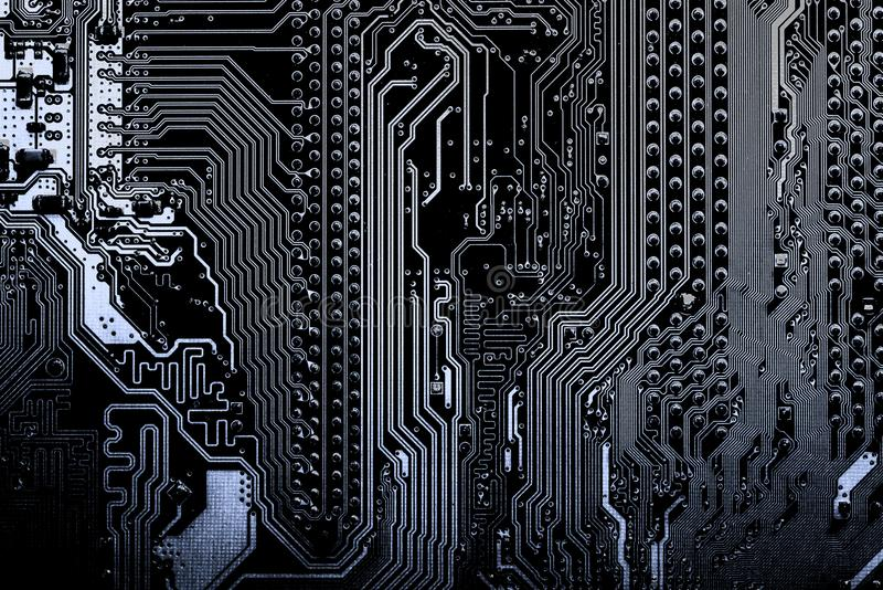 Close up of Circuits Electronic on Mainboard Technology computer background logic board,cpu motherboard,Main board,sys. Abstract, close up of Circuits Electronic royalty free stock photos