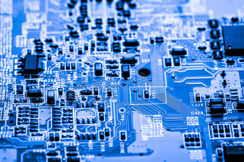 Abstract, Close up at electronic circuits, we see the technology of the mainboard, which is the important background of the comput. Er. logic board,cpu royalty free stock image