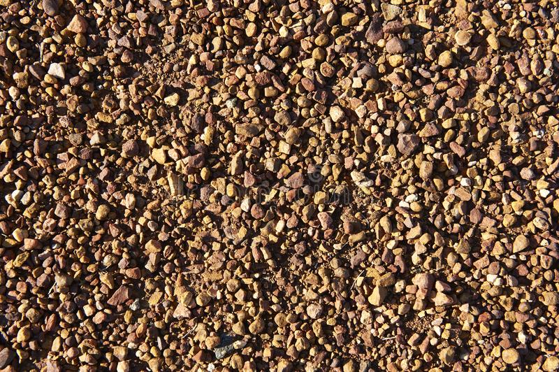 Abstract Closeup of A Pebble Ground Texture royalty free stock images