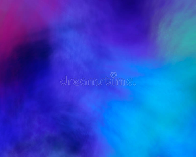 Abstract clouds background. An abstract background of colorful blue clouds vector illustration