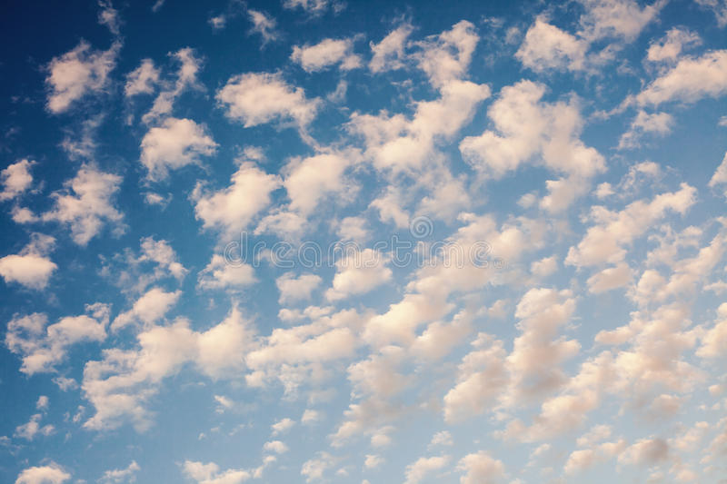 Abstract of Clouds. Just a clouds pattern, abstract composition royalty free stock photography