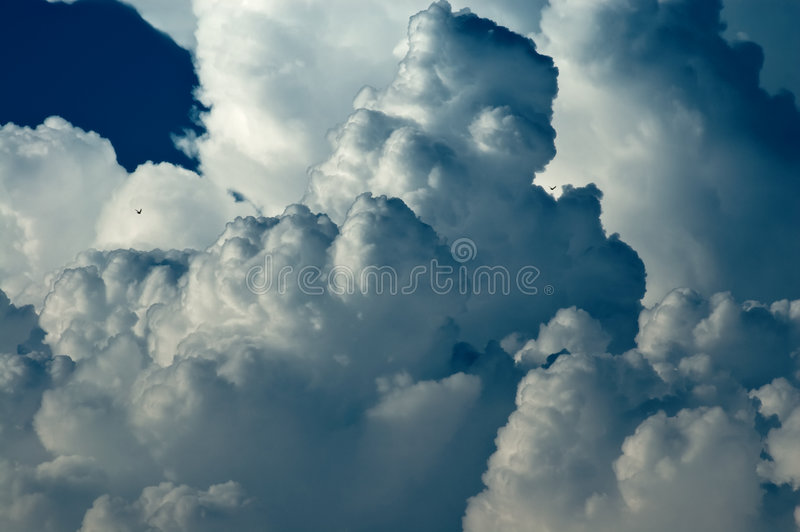 Abstract cloudscape background royalty free stock photos
