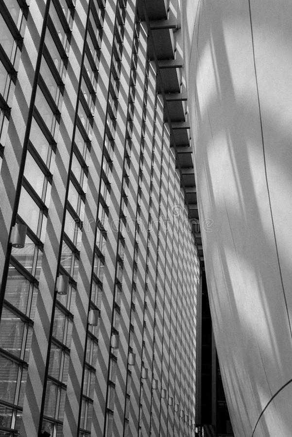 Abstract of Cocoon Building stock photography