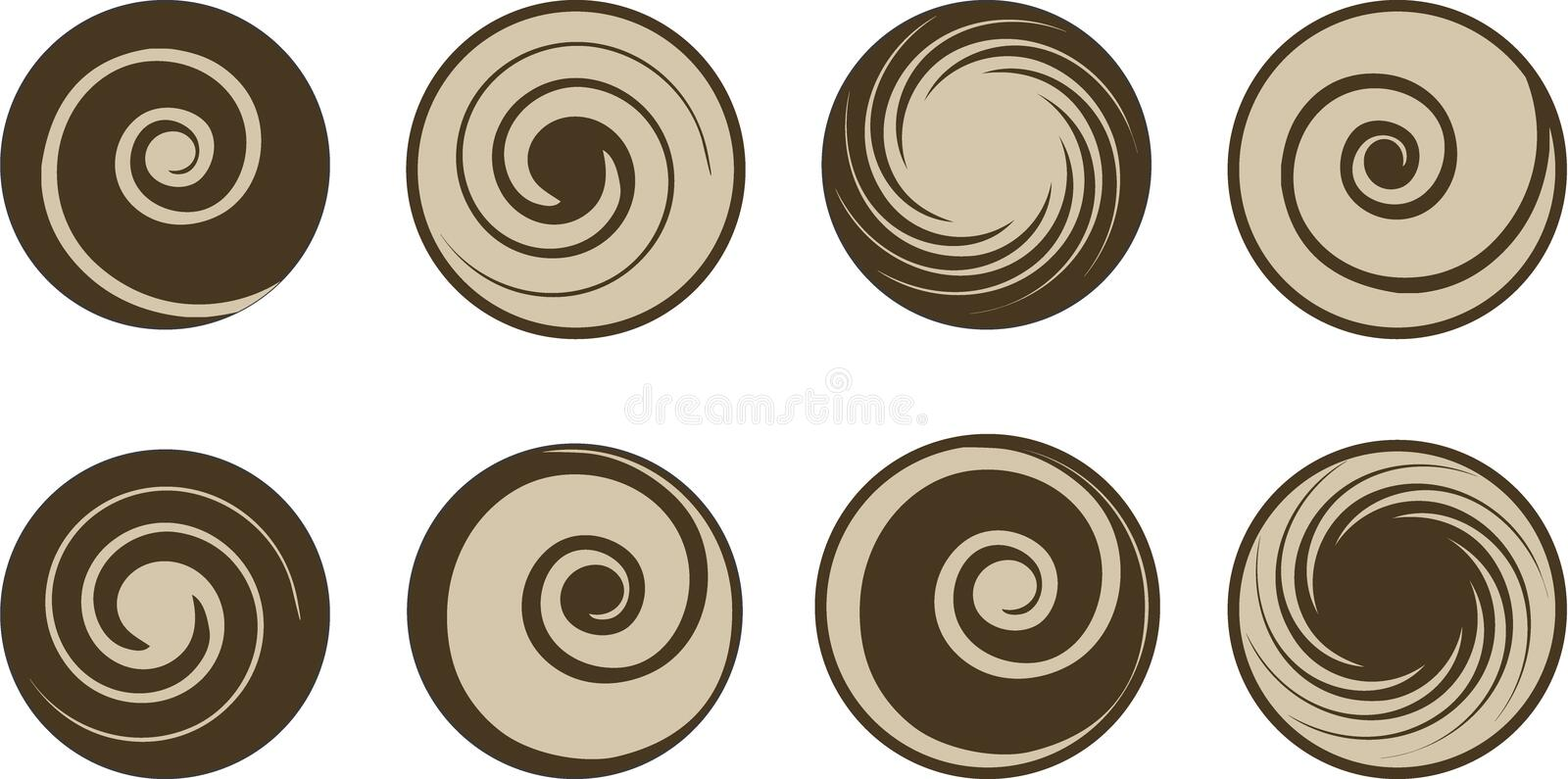 Download Abstract Coffee And Milk Vector Set Stock Vector - Image: 7789945