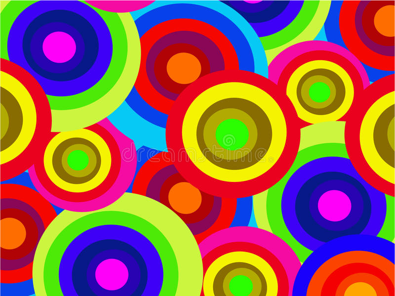 The abstract color background royalty free illustration