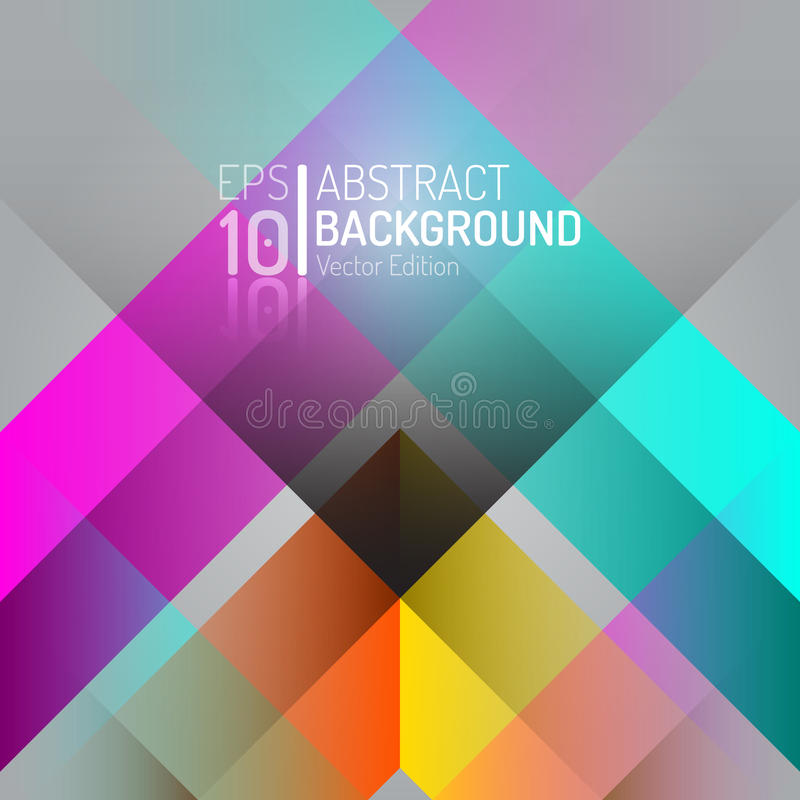 Abstract Color Background Design. Vector Elements. Creative Wallpaper Illustration royalty free illustration