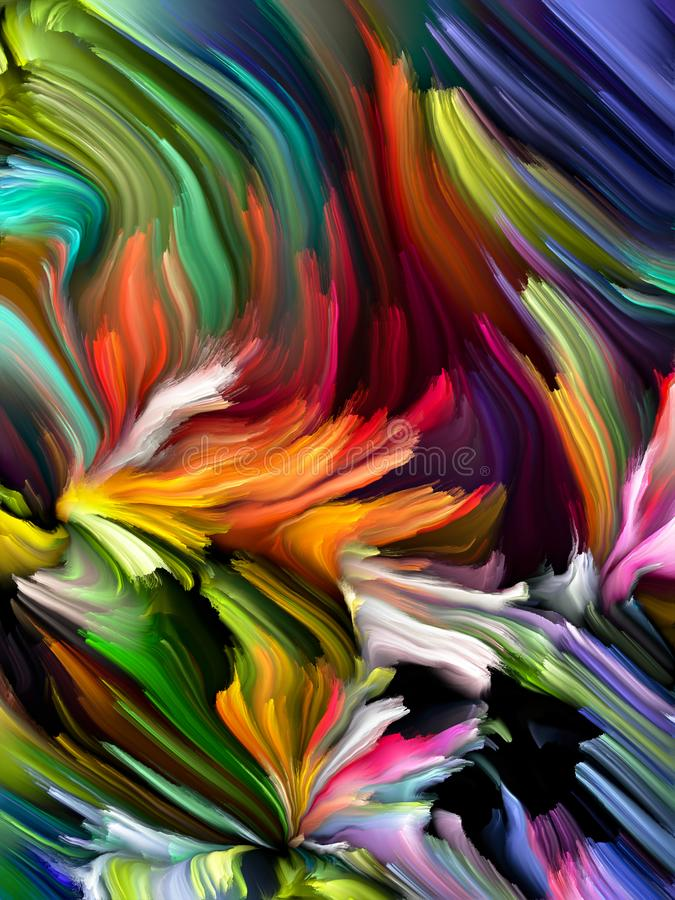Abstract Color Background stock illustration