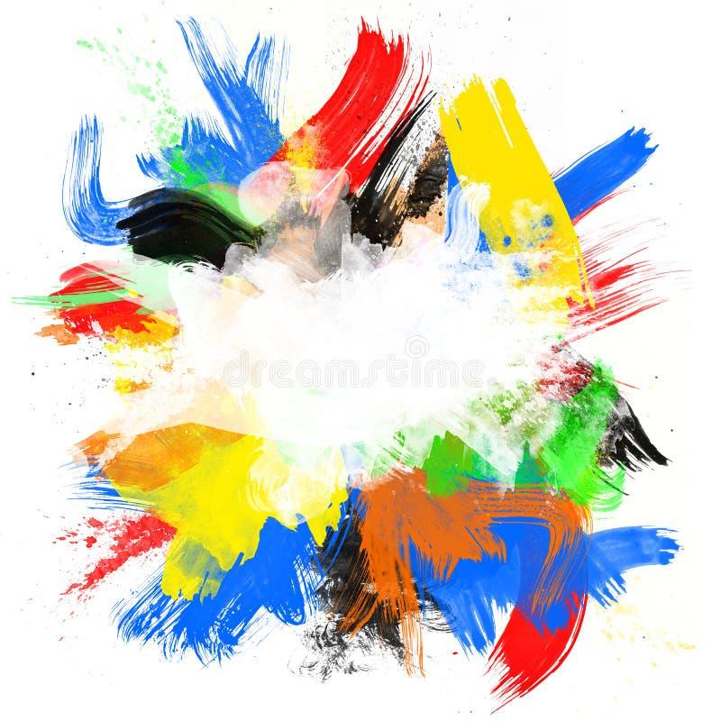 Abstract_color_background2 illustrazione vettoriale
