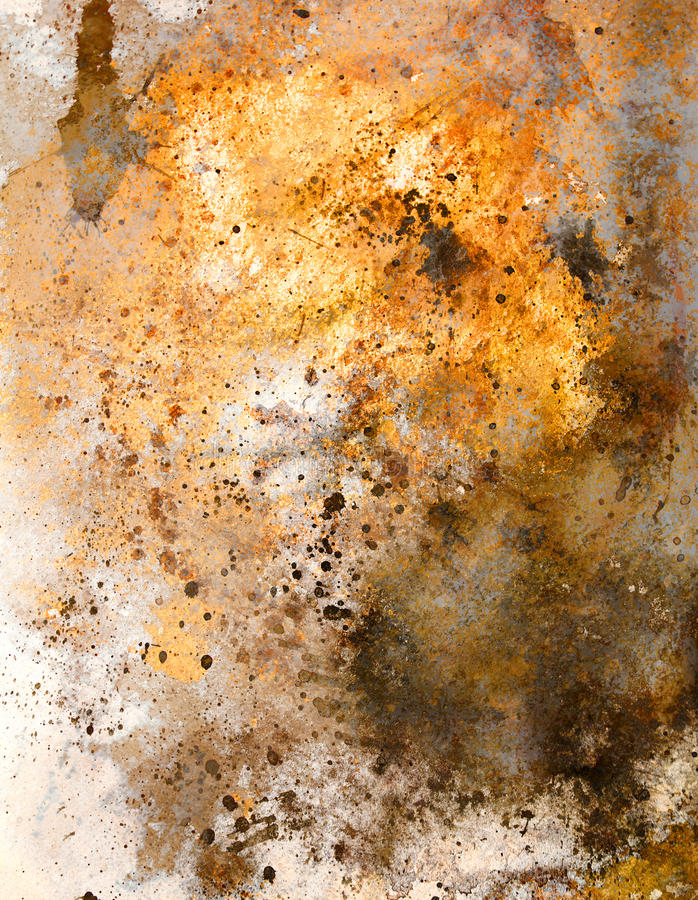 Abstract color Backgrounds, painting colage with spots.  stock illustration