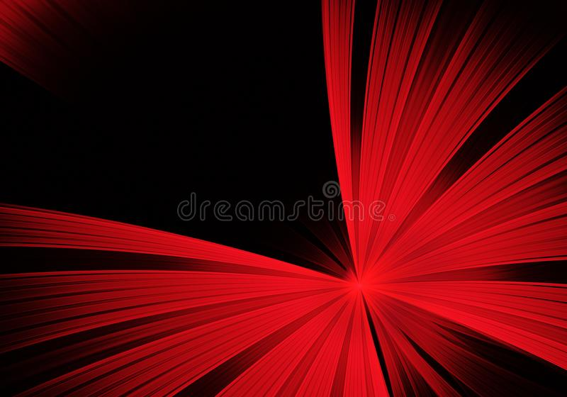 Abstract color dynamic background with lighting effect. Fractal art stock photo