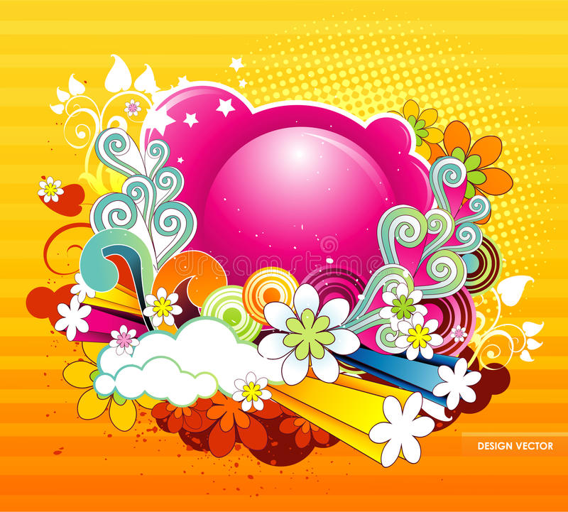 Download Abstract color fantasy stock vector. Illustration of girl - 18005642