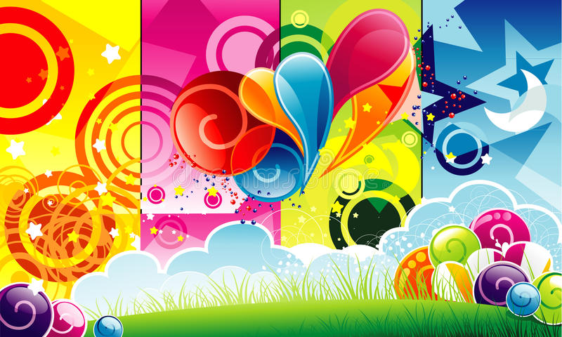 Download Abstract Color Illustration Royalty Free Stock Images - Image: 14739579