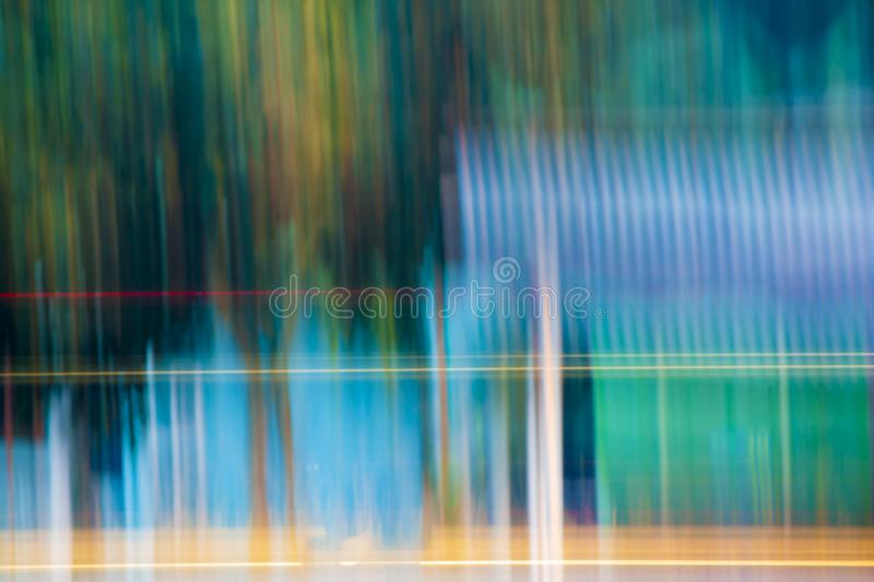 Abstract color line move up and down. royalty free illustration