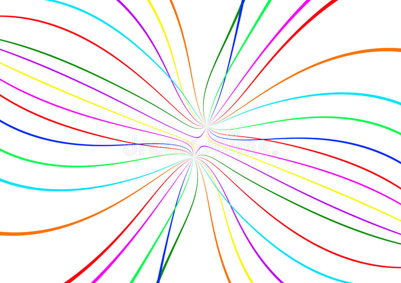 Download Abstract color lines stock illustration. Illustration of joyful - 14049699
