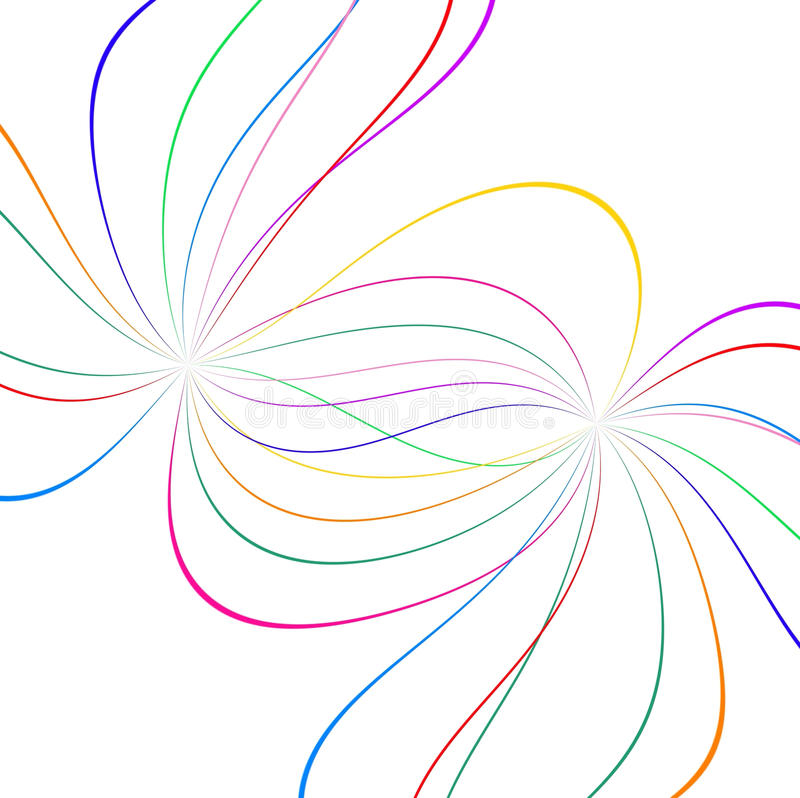 Download Abstract color lines stock illustration. Image of digital - 14404432