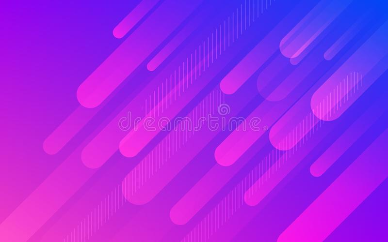 Abstract fluid purple blue pattern vector background vector illustration