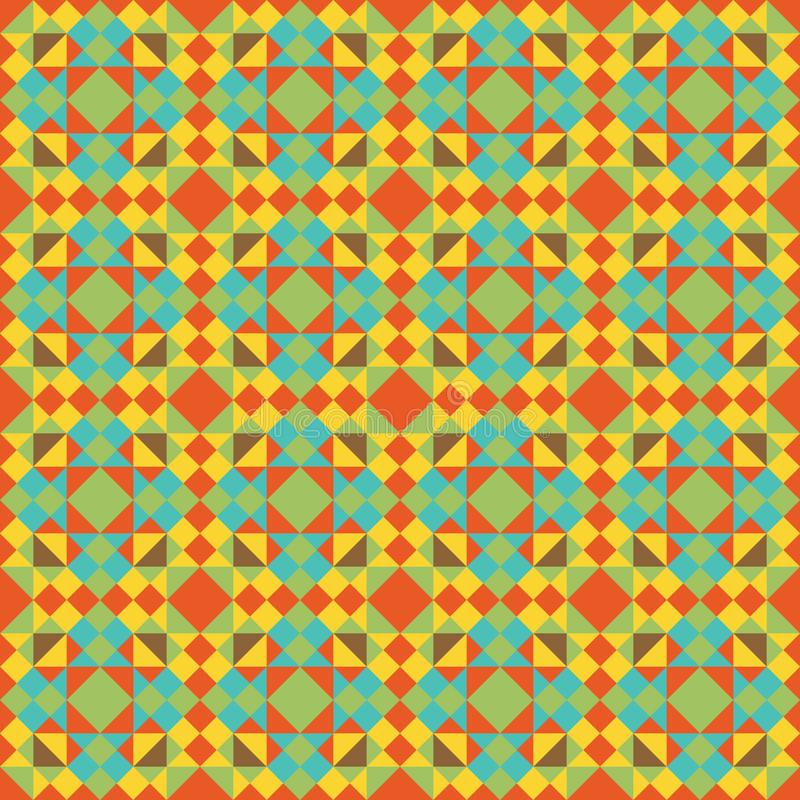 Abstract color seamless pattern. For new background. Vector illustration eps 10 stock illustration