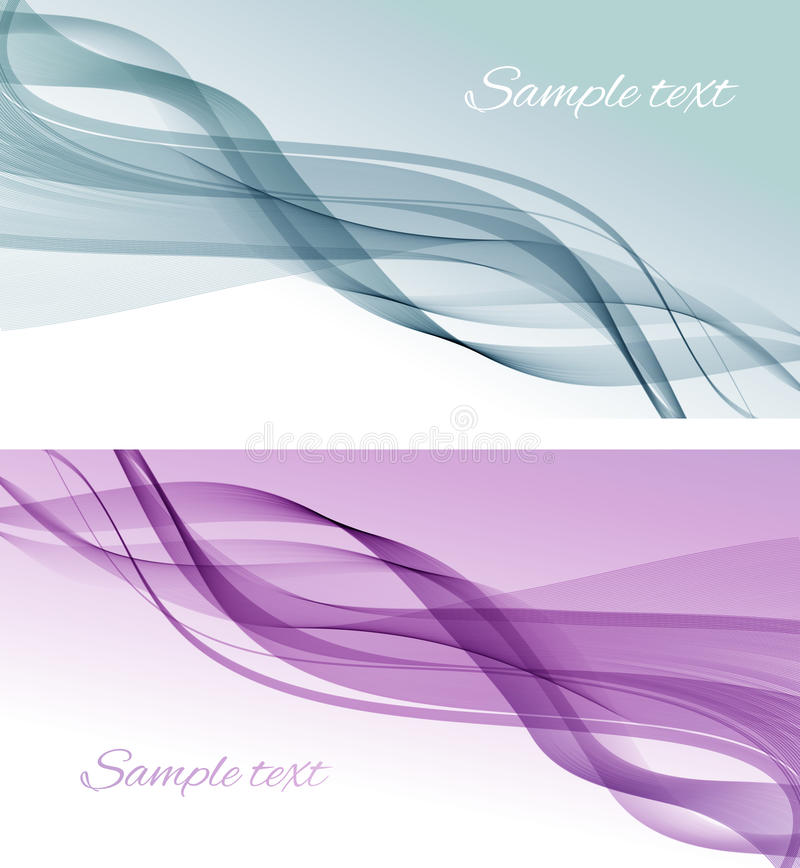 Abstract Color Smoke  Background. Royalty Free Stock Photo