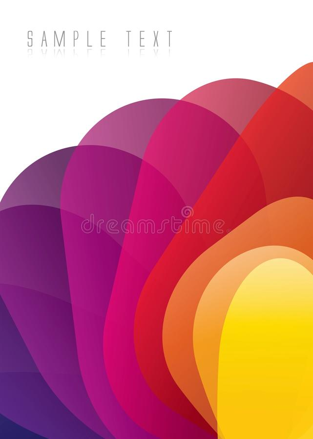 Download Abstract Color Spectrum Background Stock Illustration - Image: 16282651